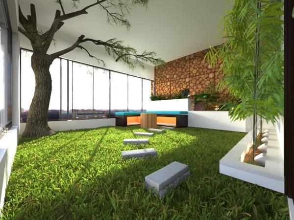 IN-HOUSE GARDEN CONCEPT @ WATER HILLS. - by Mediapanchhi, Surat