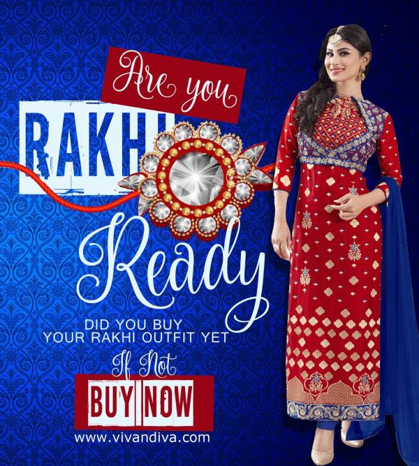 Are you Rakhi Ready?Have you bought your outfit yet?If the answer is NO! Then Check out http://www.vivandiva.com  - by Viva n Diva , Surat