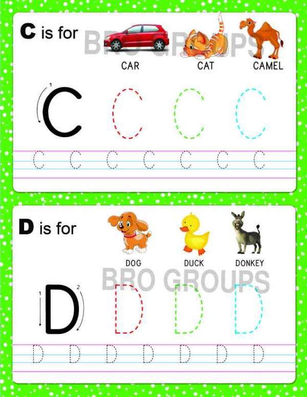 These six Delightful Activity Books will Help Young Children Develop their Essential Skills including Letter And Number Formation - by Bright Books, Coimbatore