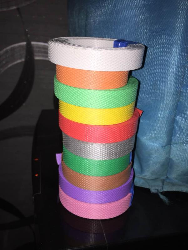 Pp strapping roll , Colour strapping roll , pp box strapping roll, heatsealing roll , pp strap , virgin strapping roll in ahmedabad , box strapping roll manufacturer in india - by Xcell Industries, Ahmedabad