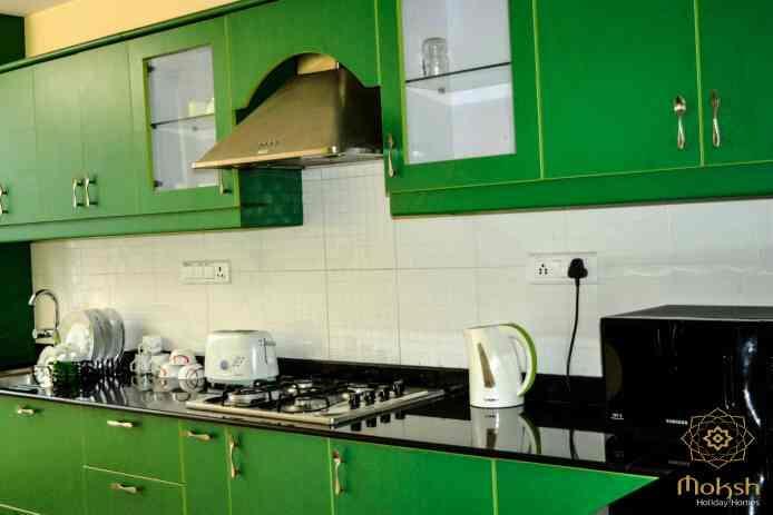 #2 bedroom Apartment  #Furnished kitchen - by MOKSH HOLIDAY HOMES, Baga
