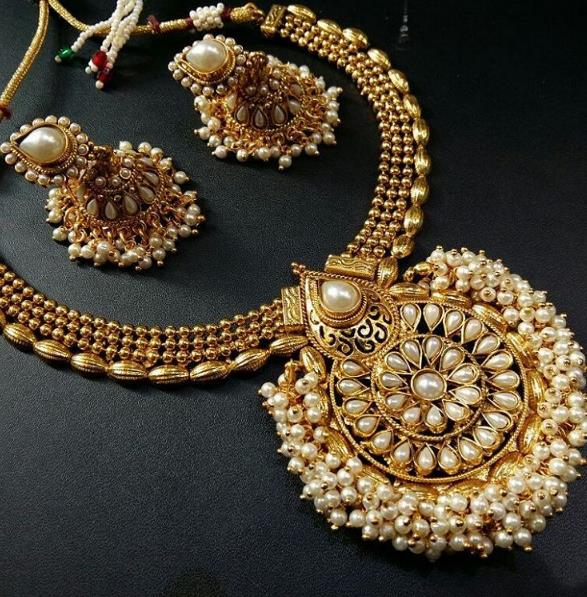 best artificial gold jewellery in delhi, kamla nagar   for more details' https://www.instagram.com/sttarbeadds.jewellery/ - by Suvidya Jewellers @9899729191, New Delhi
