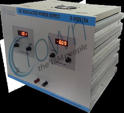 DC Regulated Power Supply manufacturers  Crown DC power supply are very stable power supplies , we offer high voltage DC  power supply upto 1500 watts . these power supply are being used in various industries . for more information http://w - by Crown Electronic Systems, New Delhi