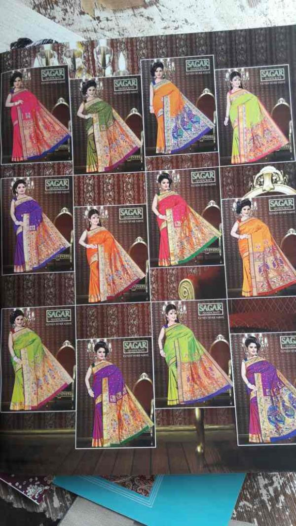 pathhni saree handwork - by Sagar Handicraft, Rajkot