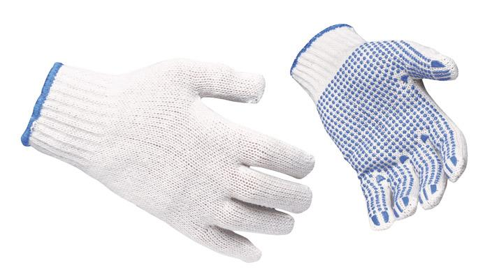 PVC Dotted Hand Gloves (Pack of 60 Pair) Buy @ Rs.750/-  Order: http://safetyproductinindia.com/PVC-Dotted-Hand-Gloves-White-Pack-of-60-Pair-/p7  We are ranked amongst the foremost firms, engaged in offering a qualitative range of Dotted Ha - by Siddhi Vinayak Enterprise - Ahmedabad, Ahmedabad