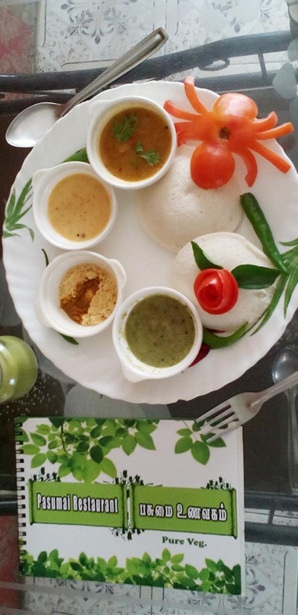 Grand Pasumai Restaurant addresses these by providing healthy and tasty food.   We do not use the following in our restaurant:  Reheated oil : as reheated oil is one the main reasons for Cancer.  Colouring agents  Preservatives  Plastic  Ma - by PASUMAI RESTAURANT (PURE VEG)-9840729917, Chennai