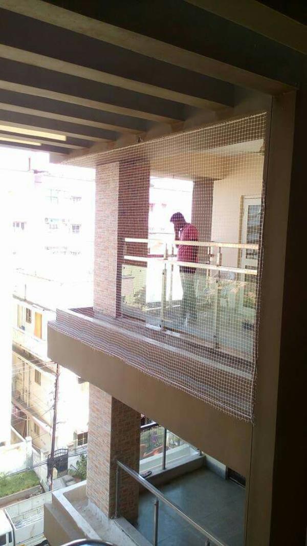 Balcony production net and bird produ tion net - by Lucky Safety Nets, Bengaluru