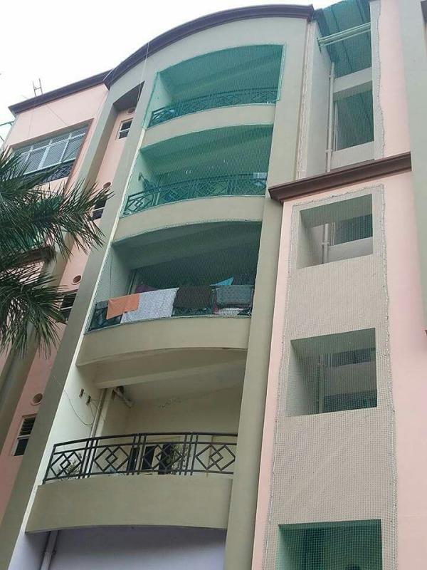 Balcony safety net from children safety net - by Lucky Safety Nets, Bengaluru