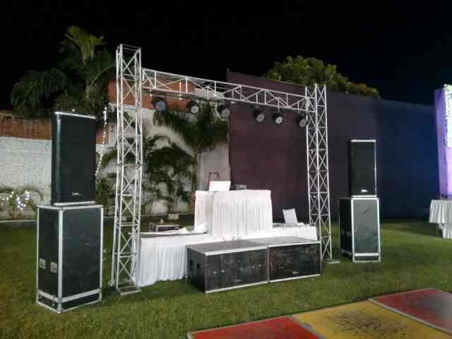 with fully well equipment of DJ system in Bareilly  we have all types of Music system available for such function wise.  Wedding DJ function , Kitty Party DJ function in Bareilly - by Rahul Singh DJ Wale Babu, Bareilly