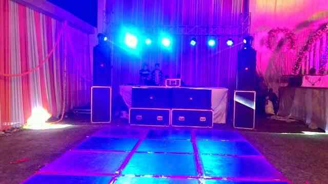 with dance floor facility in bareilly  we are one the best and well known DJ Sound system in Bareilly India - by Rahul Singh DJ Wale Babu, Bareilly
