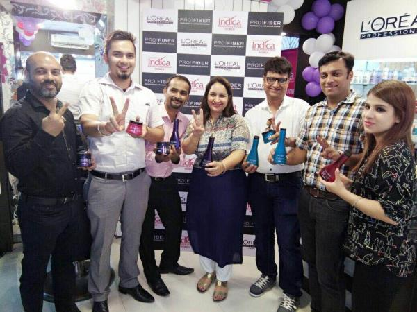 L'Oreal professional pro fiber product launched@ Indica makeover studios - by Indica Make Over Studio @7503001030, Delhi