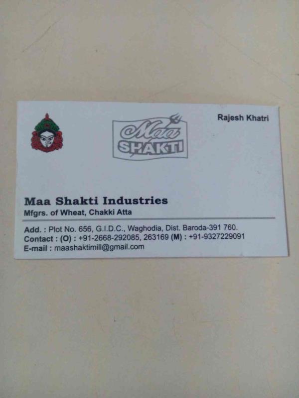 we are manufacturer  maa shakti wheat chakki atra in vadodara Gujarat - by Maa Shakti Industreis, Vadodara