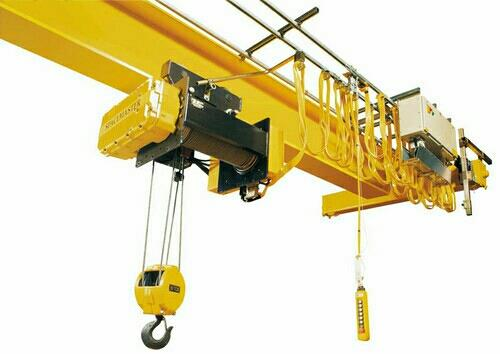 We are engaged in offering excellent quality Electric Overhead Travel Cranes to our valuable clients. These having modular design, power saving high efficiency, low weight and easy to operating or hoisting and travelling. We offer these Ele - by Anupam Industreis Limited, Vadodara