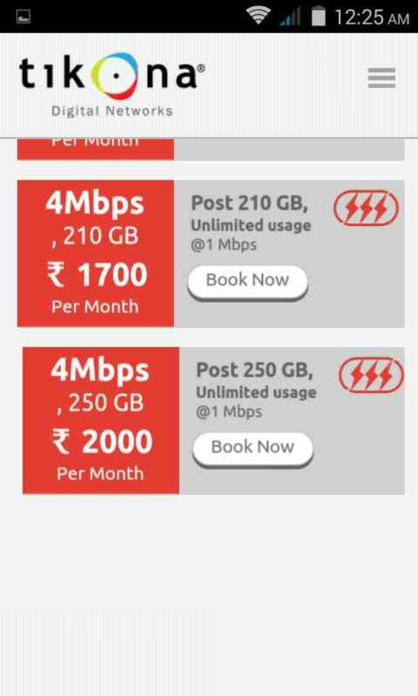 TIKONA HEAVY PLANS  - by Tikona Internet Provider Dwarka,palam +919718387660, Dwarka Sec-1 New Delhi