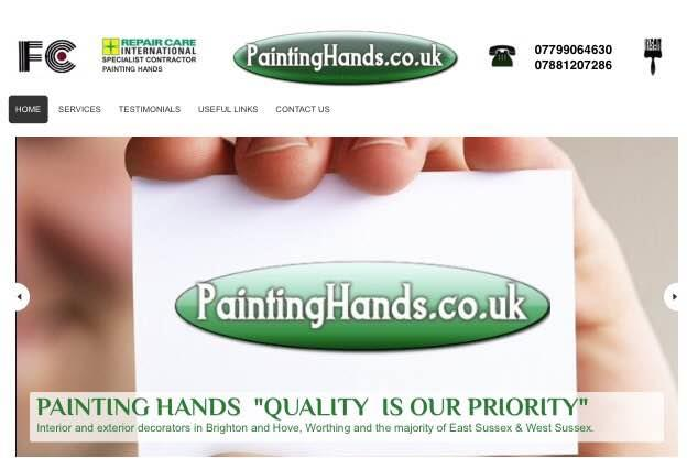 http://www.paintinghands.co.uk  - by PAINTING HANDS, West Sussex