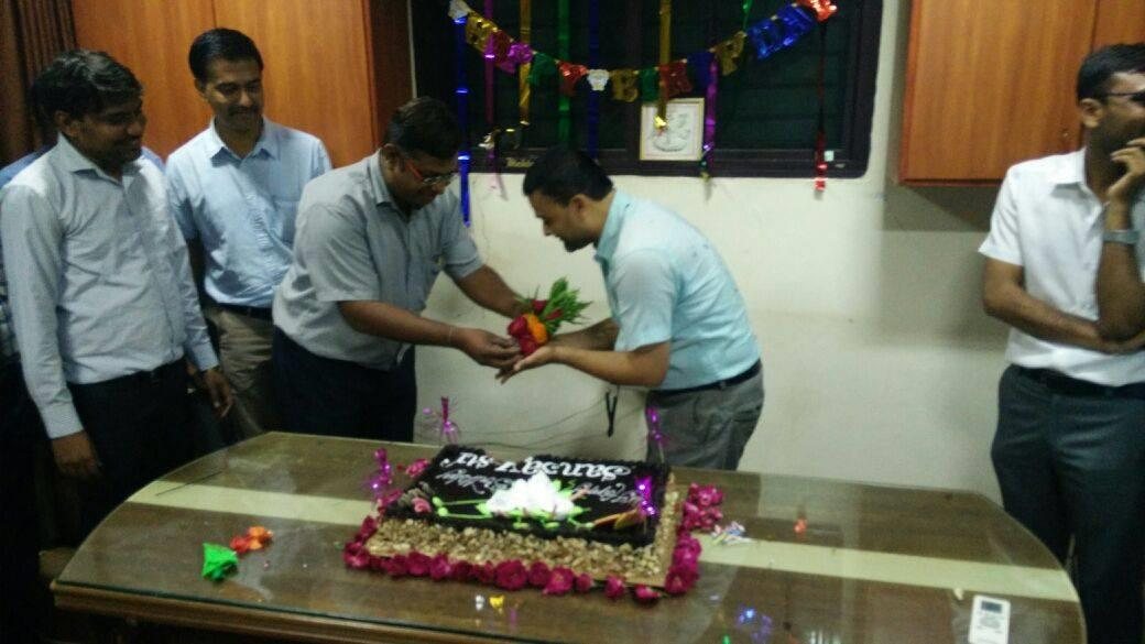 Mehta Cad Cam Group Thank you for being a wonderful person and an inspiration SanjayShah.  HappyBirthday!   Partytime at Unit-1 Happy Moments, Happy Thoughts, Happy Dreams, Happy Birthday....!!!! - by MEHTA CAD CAM SYSTEMS PVT LTD, Ahmedabad