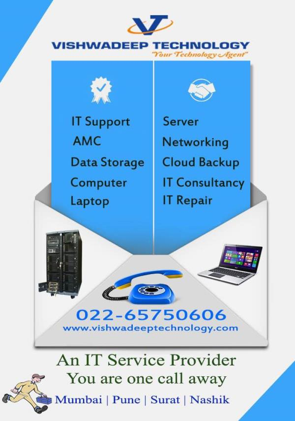 "A Complete IT Solution "" Your Technology Agent"" - by Vishwadeep Technology, Mumbai Suburban"