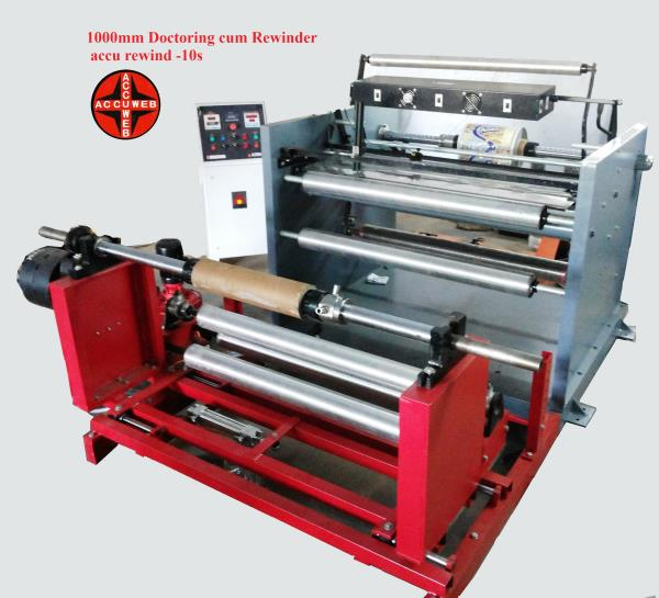 supplier of Inspection Rewinding Machine in Rajasthan Supplier of Inspection Rewinding Machine in Southafrica - by Accuweb Enterprises, AHMEDABAD