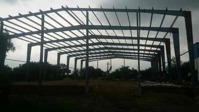 PEB building shed profile sheets purlin manufacturer in Jaipur Rajasthan.   - by Vibgyor Engineering Systems, Jaipur