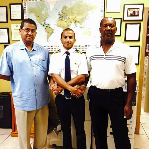 Commercial Pilot Training in USA  Congratulations to Mohammed on completing FAA Commercial Pilot License (CPL) training at Dean International in just 5 months.   For more details www.stareducare.com - by Star Educare - Flight Training Academy, New Delhi