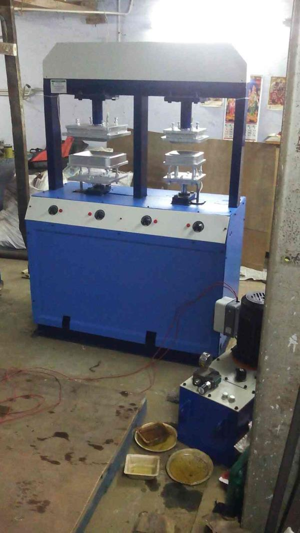 areca plate machine manufacturing in Coimbatore - by Axial Solution, Coimbatore