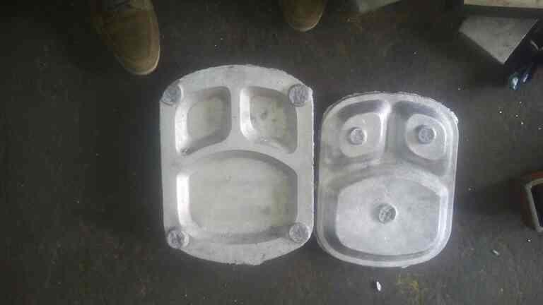 areca portions plate in india - by Axial Solution, Coimbatore