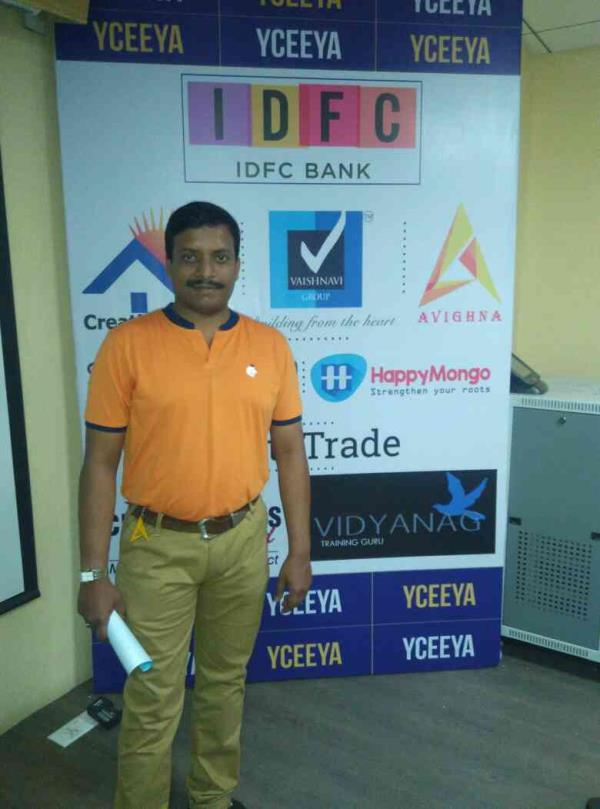 Today in the Business Meeting of YCEEYA Business ECO System had Complimented me as a Business Entrepreneur and Representing my Company Avighna Power Solution from JAYANAGAR 7th BlOCK www.avighnapower.com regarding about UPS and Batteries of - by Avighna Power Solution, Bangalore