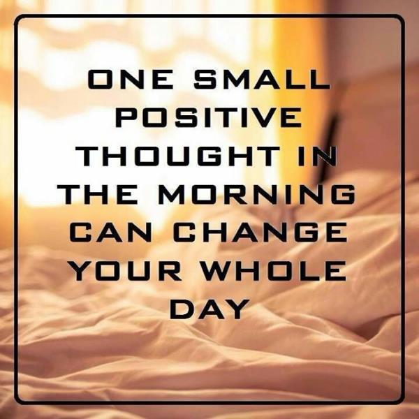 started with your day with one small positive thought not a broad plan....... - by crash course, Jorhat