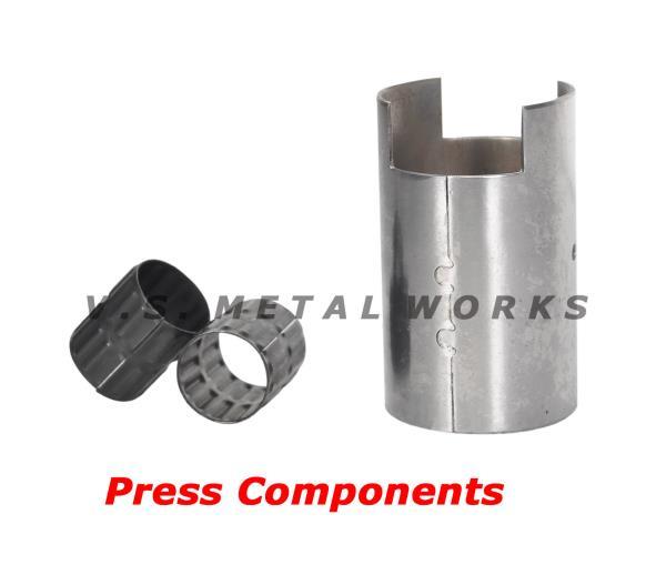 Press Components  Manufacturer of Sheet Metal Component, Magnet Body Bush, Fuel Pump Body, Roller Bush, Spring Bush, Spacer Bush, Washers - by V.S. METAL WORKS, Bimetal Bush Manufacturer, Chennai