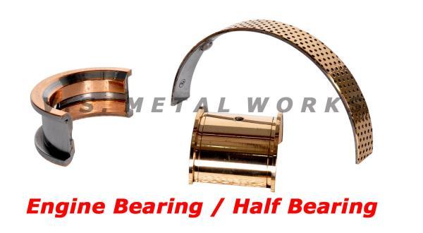 Engine Bearings  Manufacturer of Engine Bearings - by V.S. METAL WORKS, Bimetal Bush Manufacturer, Chennai