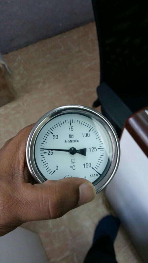 Manufacturer of Bimetallic type temperature gauges  - by Shubh Instruments, Mumbai