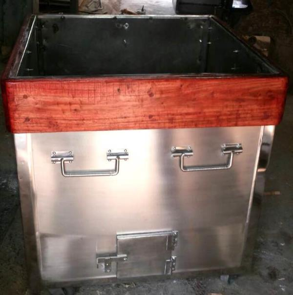 SS Tandoor, double body unit with insulation, available in different sizes. Coal fired or Gas operated. - by Ambica Sales & Services, Mumbai Suburban
