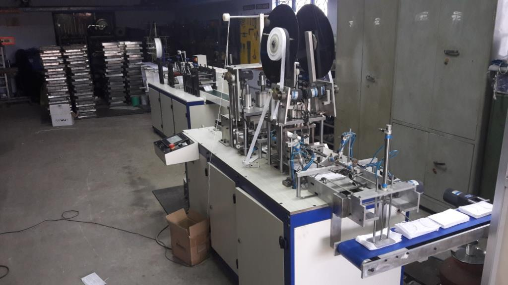 We are Leading Manufacturer Of Surgical Face Mask Machine In India.Also Manufacturer of Non Oven Surgical Face Mask Machine In India and Disposable Face Mask Machine Manufacturer In India .Quality Surgical Face Mask Ear Loop Welding Manufacturer.We Offered Industry Leading and cost effective price for Surgical Face Mask Machine In India.
