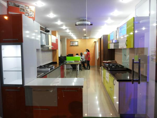 V Zone interiors show room modular office & Residence furniture work in banashankari 3 rd stage. - by Vzoneinteriors, Bangalore
