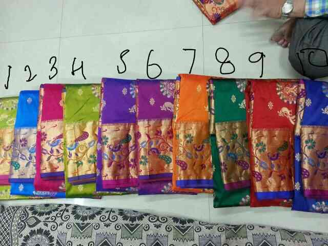 Largbigborder. pathhni saree - by Sagar Handicraft, Rajkot