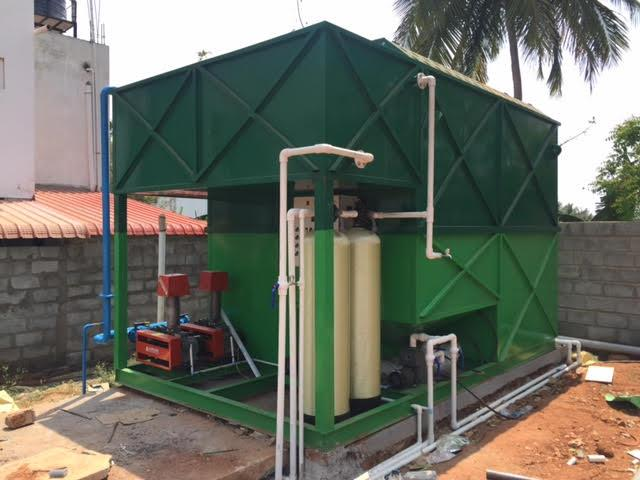 STP Package Plant -It is used for any Sewage treated water -The process of removing contaminants from wastewater -semi-solid waste or slurry that has to undergo further treatment before being suitable for disposal or land application. - by GRM Envirotech Solutions, Coimbatore