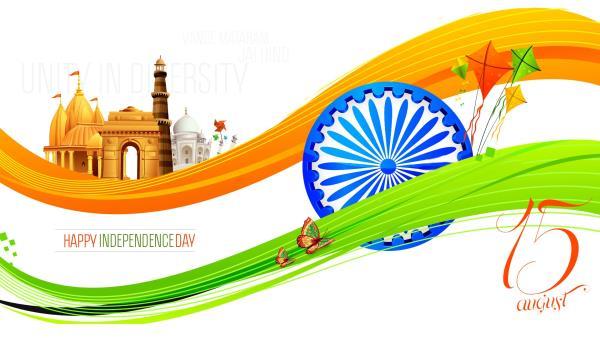 संस्कार और संस्कृति की शान मिले ऐसे,  हिन्दू मुस्लिम और हिंदुस्तान मिले ऐसे हम मिलजुल के रहे ऐसे की मंदिर में अल्लाह और मस्जिद में राम मिले जैसे.  Happy Indian Independence Day 2016 - by RT TecH Solutions, PURI