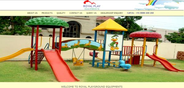 Outdoor Playground Equipment Supplier in Vasai Mumbai is Royal Play Equipments.    Royal Play Equipments. is the Playground Equipment Manufacture in Mumbai.   Established in the year 2007, we Royal Play Equipments are emerging as a consistent and developing business entity engaged in the manufacturing, supplying and wholesaling of an extensive array of Playground Items and Garden Decorating Stuff. We are one of the leading manufacturers of this quality range that has been constructed out of fiber glass, resin & mat and other safe and reliable material. That material that we have used has been procured by our associate vendors. In our range we have various kinds of educational toys and a wide variety of class room furniture. Amusement rides, Eco Park, Children play ground Equipments, Toddler play equipment, Theme Play Equipment, Park play equipments, Multi Play Equipments, Water Slides, Swings and See-Saw are some of the products that we are offering. We are also offering other similar products Baby Electric Toy Train, Garden Equipments, Play Stations, Indoor Play Equipments Designer Wooden furniture for kids, Garden benches, Swimming Pool, Kids Pool, Splash pool, Decorative items, Sculpture items and Fountains.   These items are widely used in places such as kindergartens, school, resorts, hotels, corporations, malls, colony parks, exhibitions and water parks. Our range is so fascinating and vivacious that it wins hearts instantly. It has been widely appreciated by major architects, interior designers, real estate developers and contractors who have credited this range to be conventional and easy to use or install. Customers can avail from us this range in a customized form as per the specifications they provide to us. We take contractual orders from schools and communities dealing in infrastructure decoration and availing kindergarten school furniture. Customers can be assured of the 2 year manufacturing warranty that is availed in all our products. In this matter 