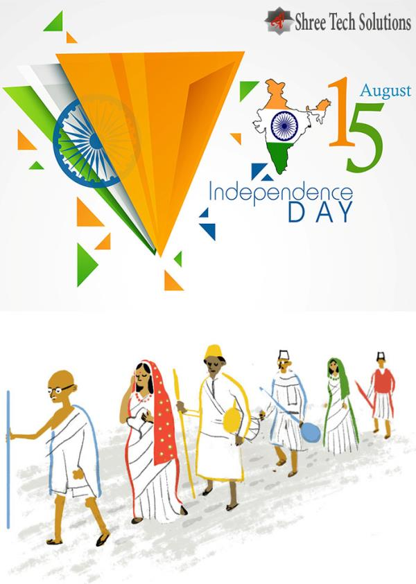 Wishing You a Very Happy Independence Day - by TheWebHoster, Delhi