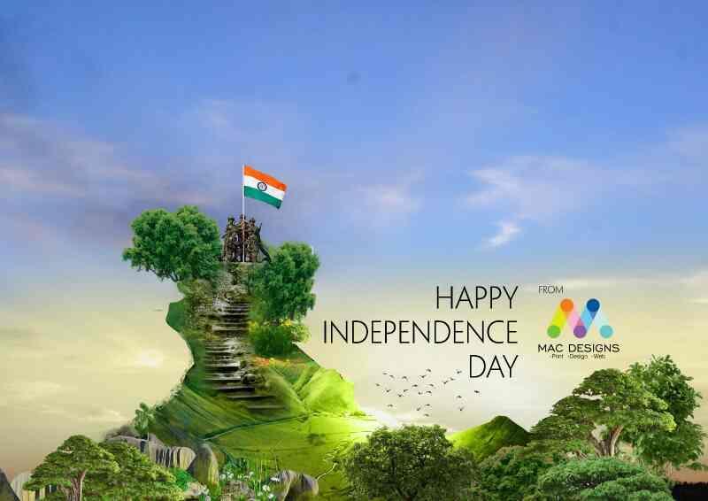 happy independace day - by mac designs, PANCHKULA