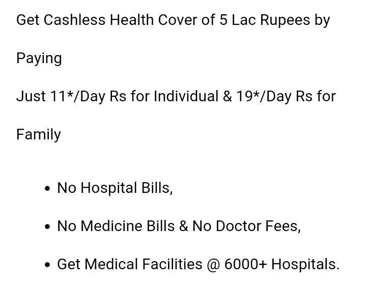 Spend Your Hard Earned Money On Medical Bills, get a health insurance - by Firstinvestor4 U, Delhi