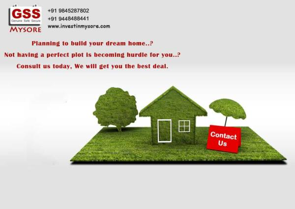 MUDA Apprd site at Mysuru,  40x60, Imm registration Site purchase loans available - by GSS Project Consultant (P) Ltd, Mysore