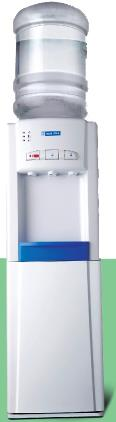 blue star bottle water dispensers  bwd3fmea with 3 taps  , hot , cold & normal  3 liters cooling  , 5 liters heating capacity  per hr  . standing model and 14 liters storage cabinet . 1 year warranty . our offer price 7, 800  - by FREEZE AIR MARKETING, Hyderabad