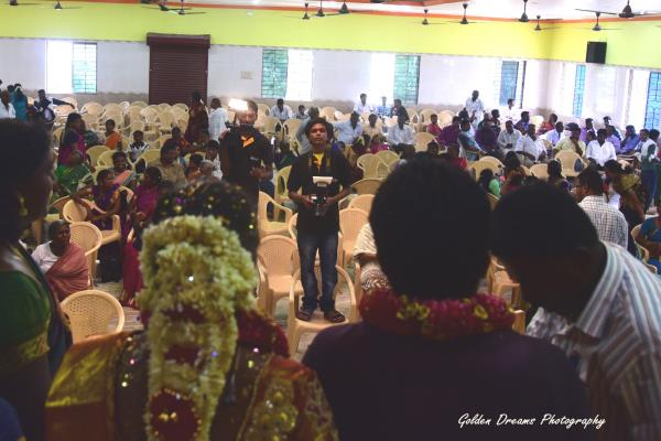 """Wedding Reception  This is the big party """"Reception"""" photographs catch all the post-ceremony festivities - by Golden Dreams Photography 9976149065, Tuticorin"""