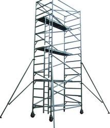 We are competent in providing our valued clients with the best Scaffolding Ladders. These Scaffolding  ladders are precisely manufactured using optimum-grade aluminum and steel and others; in complete adherence with defined safety parameters