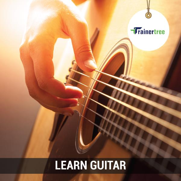 Learn Guitar. Learn Any Musical Instrument.  Log on to TrainerTree and Search, Connect and Learn with an experienced Trainer who can bring out a passion that stays with you for life.   www.trainertree.com  Guitar teacher in Delhi.  Guitar  - by TrainerTree, New Delhi