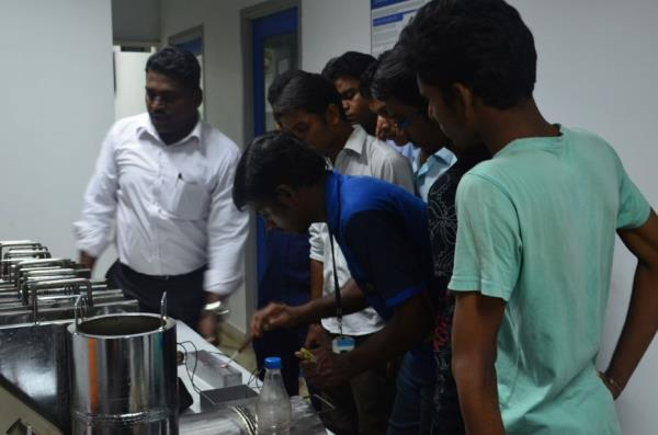 This method employs high frequency sound pulses that are emitted from a transducer; this sound wave is induced in to the material through a probe which is usually in contact with the material. These sound waves propagate through the materia - by NDT Academy Private Limited, Chennai