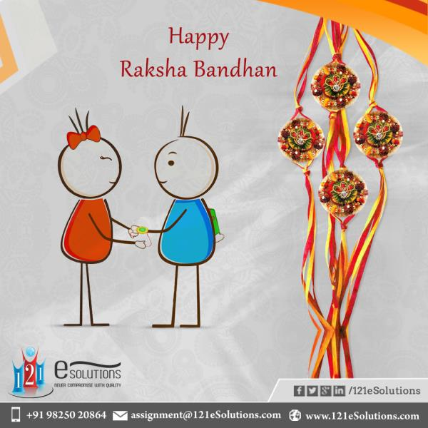I am really thankful to God to have the precious gift of a sister like you. #HappyRakshaBandhan.#121esolutions. - by 121eSolutions, London