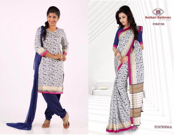 We are Leading Suppliers Of Uniform Sarees and Uniform Salwar. We have same designs for Uniform Sarees and Uniform Chudidar.  - by SUPERSTAR UNIFORMS, Chennai