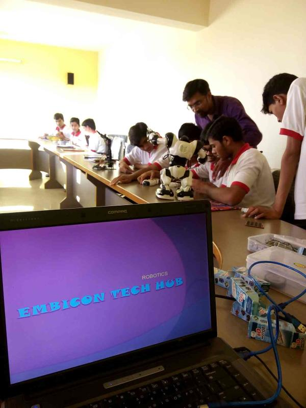 Learn by doing.. Robotics for all - by Embicon Tech Hub, Rajkot